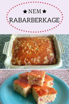 Utrolig god og nem rabarberkage med en dejlig svampet konsistens. En af de…