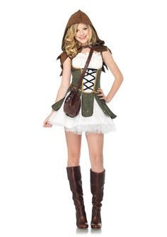 robin hood junior teen tween girls halloween costume brand new - Easy Homemade Halloween Costumes For Teenage Girl