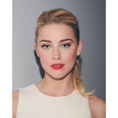 amber heard | Tumblr ❤ liked on Polyvore featuring amber heard, people, models, makeup and pictures