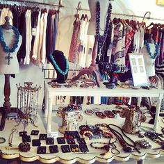 #STEPHANIELEIGHJEWELRY at #Frolicboutique trunk show! #jewelry #handmade #atl #Atlanta #buckhead