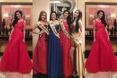 Miss Earth Winners at the Annual Unilever Distributor Star Awards