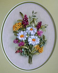 Wonderful Ribbon Embroidery Flowers by Hand Ideas. Enchanting Ribbon Embroidery Flowers by Hand Ideas. Types Of Embroidery, Learn Embroidery, Embroidery Stitches, Embroidery Patterns, Embroidery Supplies, Beginner Embroidery, Ribbon Embroidery Tutorial, Silk Ribbon Embroidery, Hand Embroidery