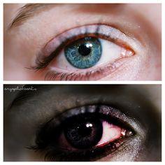 Infected Eye #zombie #photoshop