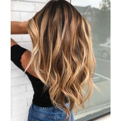 balayage hair balyage hair blonde balyage brown balyage, 60 Balayage Hair Color Ideas With Blonde Brown Caramel. Best 25 Balayage Hair Brunette With Blonde Ideas On. Brown Blonde Hair, Brunette Hair, Wavy Hair, New Hair, Curls Hair, Blonde Bangs, Sunkissed Hair Brunette, Balayage Brunette, Golden Blonde