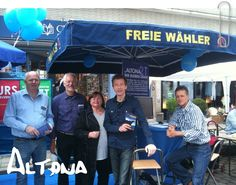 Infostand in Hamburg-Altona Politics