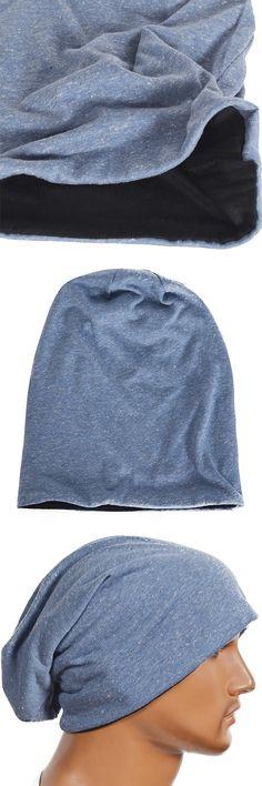 Thin Mens Beanie Skullcap Summer Cap Cool Hat FORBUSITE