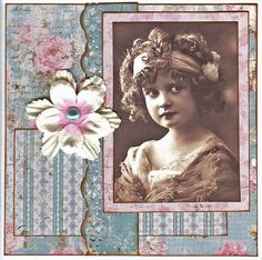 Card with Maja Design papers...