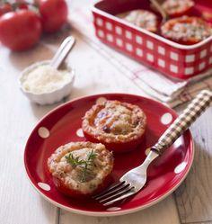 Tomates rôties au parmesan - Ôdélices : Recettes de cuisine faciles et originales !