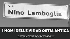 I nomi delle vie a Ostia antica – Generazione di archeologi Cinema, Movies, Films, Movie Theater