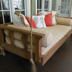 porch swing. yeah... i could nap on that.