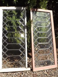 Beveled Leaded Glass
