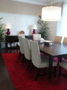 Nice board and batten dining room.