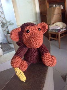 Macaco de crochet
