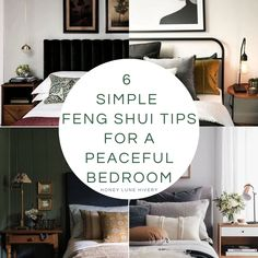 6 Simple Feng Shui Tips for a Peaceful Bedroom – Honey Lune Hivery