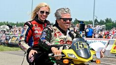 Clue #8 Courtney Force and John Force