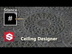 Ceiling Designer - Substance Designer Material Breakdown - YouTube