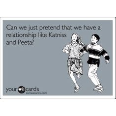 A love like Peeta & Katniss