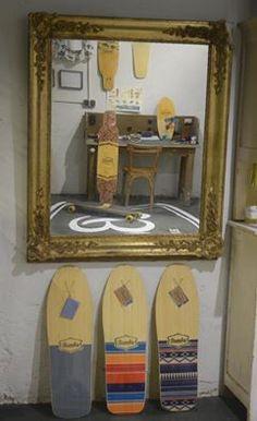 #Bamba Longboards El pasado se refleja en el futuro... Past is reflected in the future...