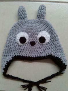 Totoro crochet hat/ Gorro de Totoro en crochet