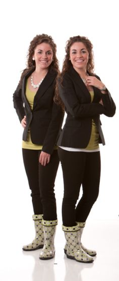 DECA members Brynne and Bailye Stansberry and their boot company, Twoality, appear in the Columbia Business Times