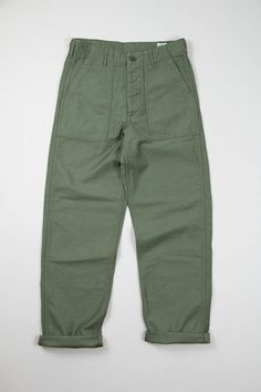 orSlow Green US Army Fatigue Pant