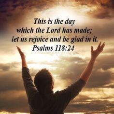 Let us praise His Name!