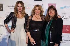 Elena Ballesteros, Charo Ruiz y Esperanza Gracia en el Kissing room de Pasarela Costura España