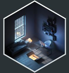 A series of images exploring one moment in time across an infinite universe. A series of images exploring one moment in time across an infinite universe. Level Design, Bg Design, Design Room, Vector Design, Game Design, Isometric Art, Isometric Design, Isometric Shapes, Environment Concept Art
