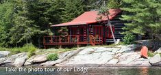 Killarney Lodge offers beautifully decorated log & pine cabins with amenities such as fine country dining, personal canoes, and more for a truly charming Canadian experience. Algonquin Park, Park Resorts, Lake Superior, Cabin Rentals, Lodges, Wilderness, Photo Galleries, Camping, House Styles