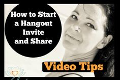 Video Tip | How to Start a Hangout, Invite and Share Facebook Fan Page, Invitations, Invite, Repurposed, Marketing, Videos, Tips, Youtube, Footprints