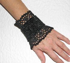 Marie Antoinette Cuff Bracelets Jewelry / bracelet Cuff  Beadwork Free form  crochet bracelet cuff