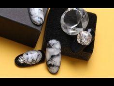 대리석 마블 네일아트/트릭젤로 쉽게 만들어보자!/Marble Nail Art _Nailcollection by midae - YouTube