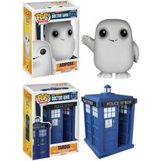 "Funko Doctor Who POP! TV Vinyl Collectors Set: TARDIS 6"" and Adipose - Walmart.com"