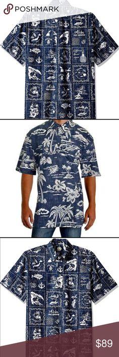 dd132e2f Reyn Spooner Men's Pullover XXL NWT Reyn Spooner Men's My Private Isle  Pullover XXL Classic Fit