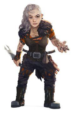 Dwarf or halfling rogue