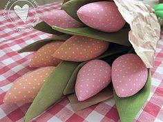 Шьем тюльпаны | Ярмарка Мастеров - ручная работа, handmade