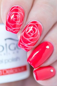 Sharm Effect - How to Make Realistic Roses with Gel (with VIDEO)