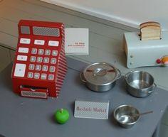 How to: cardboard cash register. Caja registradora de carton