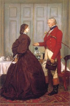Trust Me 1862 Painting by Sir John Everett Millais