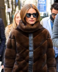 WHO: Olivia Palermo WHERE: On the street, NYC WHEN: March 22, 2015