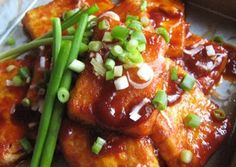 Easy and Inexpensive but Yummy Panfried Tofu with Gochujang Recipe -  I think Easy and Inexpensive but Yummy Panfried Tofu with Gochujang is a good dish to try in your home.