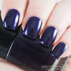 e.l.f.  - Dark Glitter Purple | brand new $0.75