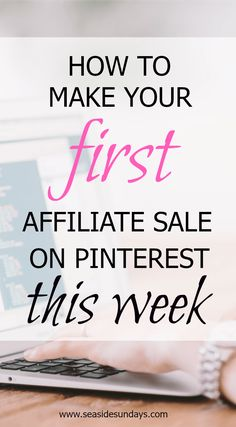 A guide to show you how to use affiliate links directly on Pinterest? This tutorial will show you how to make money with affiliate marketing. Bloggers and WAHMs can make extra money using their pins.  Learn the best ways to use affiliate links on your pins to increase your income. Learn which are the best affiliate programs to join and which products sell well for affiliate marketers on Pinterest.