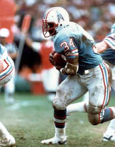 Earl Campbell  1978 Rookie of the Year   1978 Offensive Player of the Year   1979 NFL MVP   1979 Offensive Player of the Year   1980 Offensive Player of the Year   5x Pro Bowler   3x First-Team All Pro