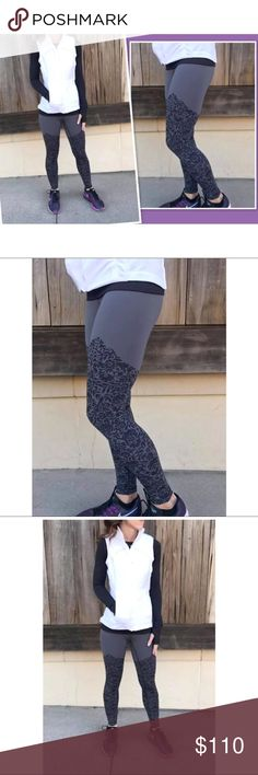 Lululemon Ohh La Lace Pant Brand New Lululemon Wunder Under Pant High-Rise ooh-La Lace  COLOR: ooh-la-lace wunder under 50g dark carbon black/dark carbon  SIZE: 10   why LULU made this  Naked Sensation, Engineered to feel like your go-to , lightweight, second skin layer- you'll forget you're wearing this , next to nothing sensation as you move.  sweat-wicking four-way stretch cool smooth handfeel naturally breathable  fit + function  designed for: yoga, gym fabric(s): Nulux fit: tight rise…