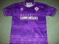 1994 1995 Fiorentina Football Shirt Top Maglia Adults XL Italy Classic  Football Shirts 9cf90cbb1