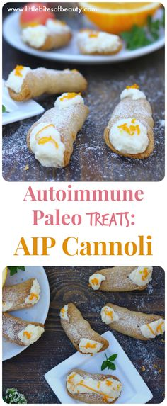 These AIP Cannoli are the best Autoimmune Paleo Treats to get through the Autoimmune Protocol without feeling deprived :)