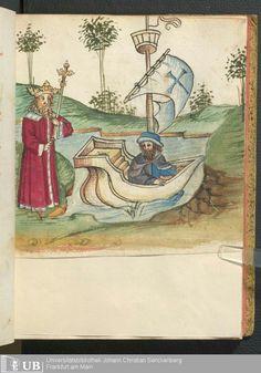 Ms. germ. qu. 13 - Salman und Morolf SchreiberHans <Dirmstein>  Erschienen[S.l.], [1479; 15. Jh. 2. Drittel]