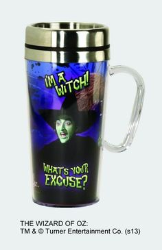 """""""I'm a Witch"""" Stainless Steel Travel Mug"""