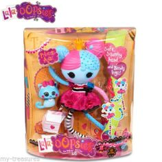 """LQQK ~ New Lala-oOpsie Big 12"""" Doll ~ Princess Anise with Pet Kitty- New in Box"""